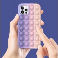 Чехол поп-ит POP IT for для iPhone силиконовый ультрасовременный дизайнерский яркие цвета