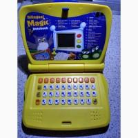 Детский обучающий игровой ноутбук