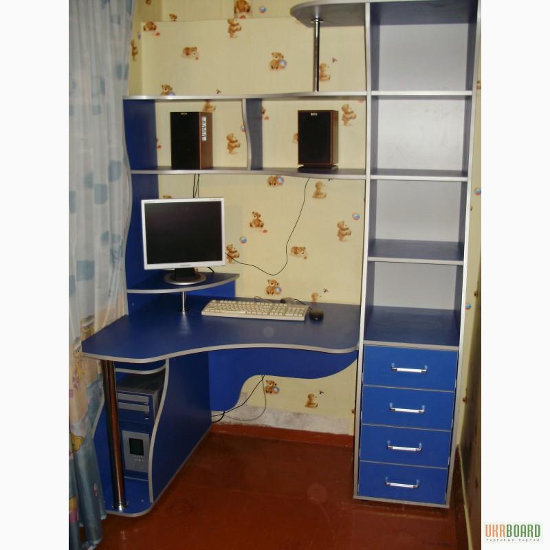 Фото: компьютерные столы под заказ. изготовление мебели, зап.