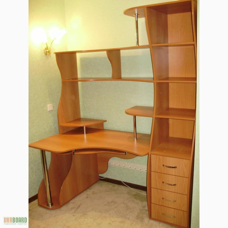 Фото к объявлению: компьтерные столы под заказ - ukrboard.