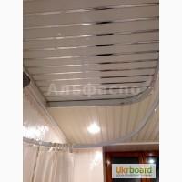 Подвесные реечные потолки для ванной