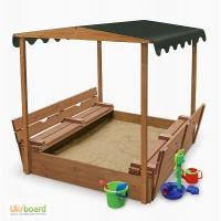 Песочница для детей, песочница из дерева (pes 4)