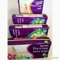 Новые английские подгузники Dry n cosy Премиум класс - самые низкие цены