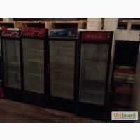 Распродажа холодильных витрин для напитков б/у в ресторан, кафе, общепит