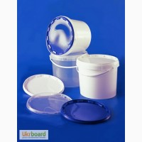 Ведро пластиковое белое 11, 2л