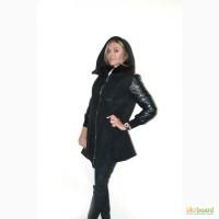 Женское пальто, модель летучая мышь