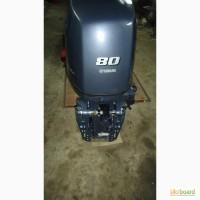 Продам лодочный мотор Yamaha 80 инжектор 46 часов