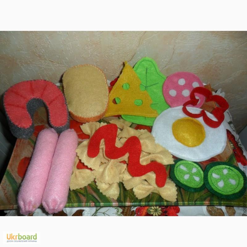 Как сделать игрушечную еду своими руками для  15
