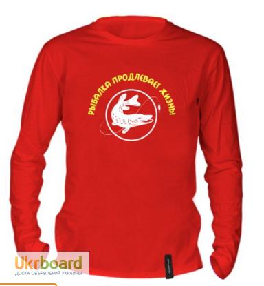 футболка с рукавами для рыбалки