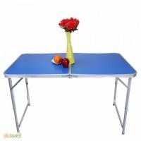 Столик для пикника 120х60, стол туристический алюминиевый WELFULL