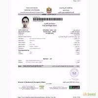 Виза в ОАЭ без присутствия
