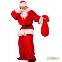 Новогодний карнавальный костюм Санта Клауса