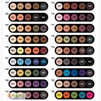 Оптом палитры теней Make-Up Atelier Paris