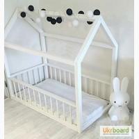 Детская кровать кровать-домик деревянная, мебель в детскую