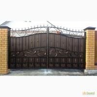 Изготовление и установка ворот, заборов, калиток Одесса