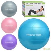 Мяч M0275U/R для фитнеса 55см, 700г, в кор. 23 17, 5 10, 5см