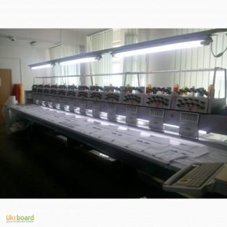 Вышивальная машина ZSK (12 голов - 11 игл)