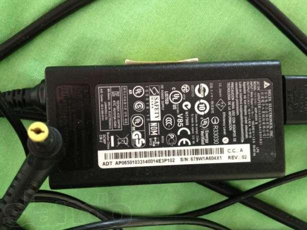 Фото 5. Блок живлення до ноутбука Acer 19V-4.74A 5.5*1.7 мм