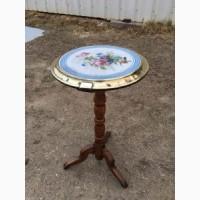 Антикварный столик с керамической столешницей