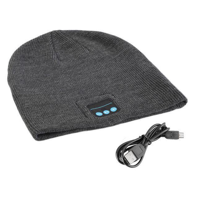 Фото 2. Шапка с Bluetooth наушниками Bluetooth Music Hat (беспроводные наушники)
