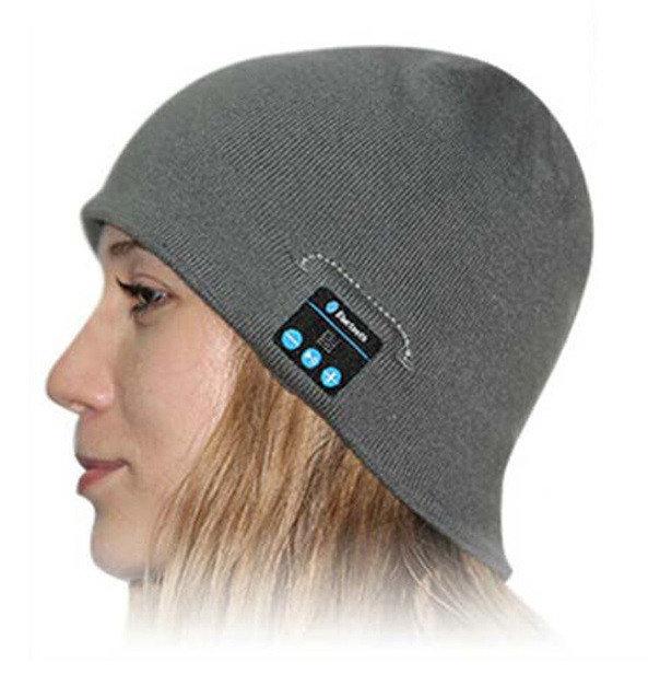 Фото 4. Шапка с Bluetooth наушниками Bluetooth Music Hat (беспроводные наушники)
