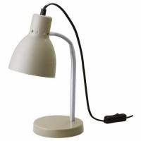 Классная серая настольная лампа (новая) ИКЕА