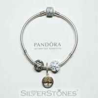 Оригинал Pandora Пандора шарм подвеска Семейные ветви арт. 791988CZ