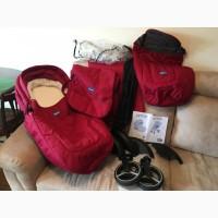 Продам б/у коляску Chicco Artic + подарок муфта для рук