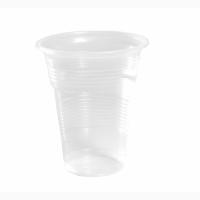 Стакан пластиковый ХТМК 0, 5л 50шт/уп Прозрачный