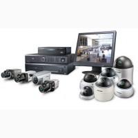 Установка видеонаблюдения, домофонов, систем безопасности под ключ