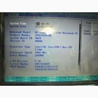Продам ноутбук два ядра Hewlett-Packard HP Pavilion dv9000, 17 дюймов