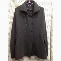 Шерстяной кейп накидка кофта джемпер кардиган свитер от Mary (Италия) размер S/M