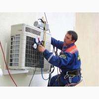 Монтаж кондиционеров, вентиляции