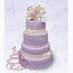 Свадебный торт на заказ Киев доставка Акция