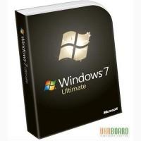 Купить Windows 7 Ultimate 32bit/64bit Лицензионная версия делает любое