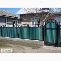 Ворота из профнастила Профнастил для ворот