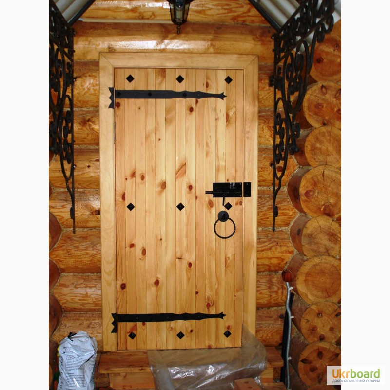 Двери из дерева своими руками фото