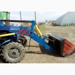 Фронтальный погрузчик кун на трактор Т-40, МТЗ, ЮМЗ ( L 4м. )