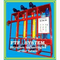 Линия фильтрации растительного масла. FTF-system