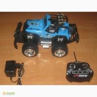 Машина-джип на аккумуляторе, радиоуправление, танцует, музыка, плеер