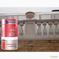 Полиуретановая универсальная эмаль-лак ISAVAL 2КР 0.75л -для защиты металла, камня, бетона
