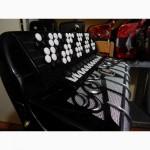 Баян weltmeister Grandina пятирядный 11 и 5 регистров чорная