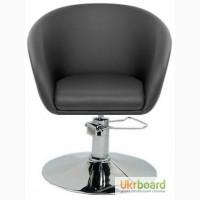 Парикмахерское кресло Мурат Р P парикмахерское синее черное белое