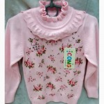 Детская нарядная трикотажная кофта Арина для девочек 2-5 лет