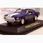 Модель Shelby GT 500-KR 1968 r. На подставке. 1:43