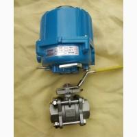Электропривод для шарового крана - четвертьоборотный корейского производства IP67