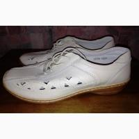 Кожаные туфли Damart, 40-41р