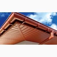 Монтаж подшива крыши и водосточные системы по Одессе и Одесской обл