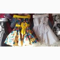 Нарядные платья для девочек 6 - 8 лет опт и розница