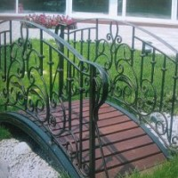 Художня ковка ковані вироби сходи перила ворота огорожі дашки івано-франківськ